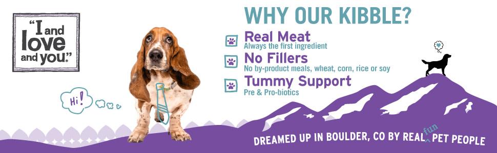 "I and love and you."" Naked Essentials Dry Dog Food, Grain-Free Lamb &  Bison, 23 Lb - Walmart.com - Walmart.com"